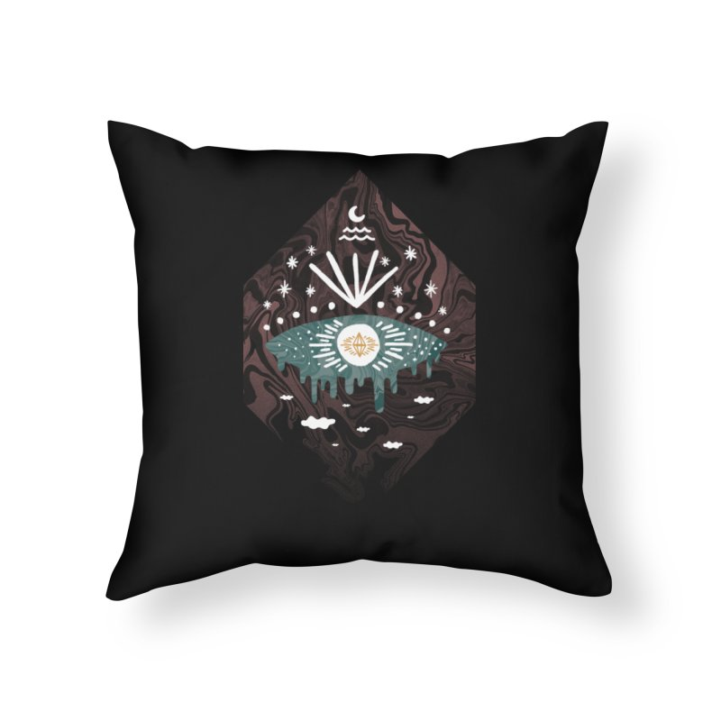 Oversight Home Throw Pillow by ordinary fox