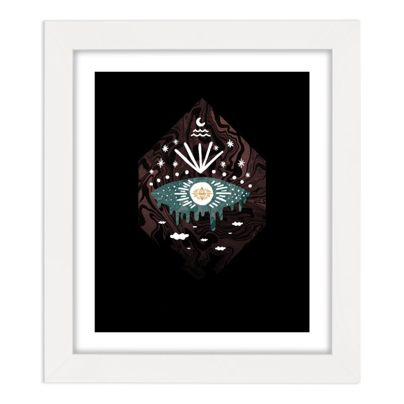 Oversight Home Framed Fine Art Print by ordinaryfox