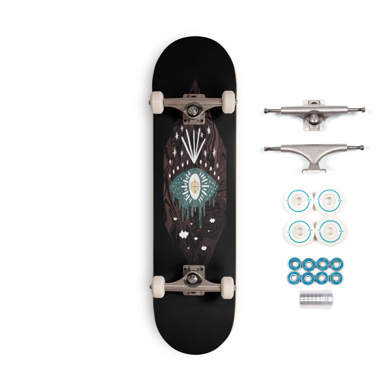 Oversight Accessories Complete - Basic Skateboard by ordinary fox