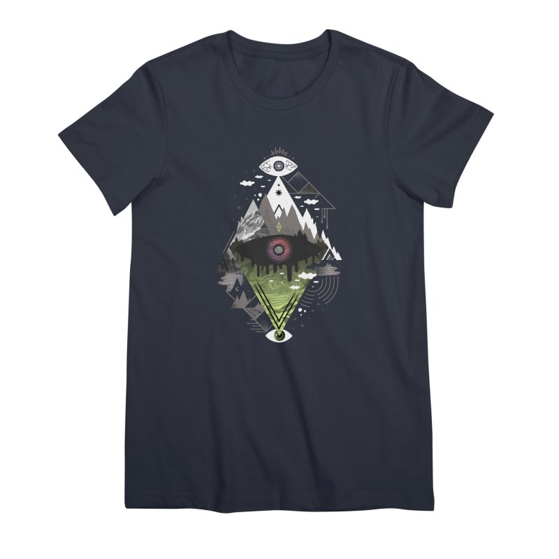 0v3r5ight_ Women's Premium T-Shirt by ordinary fox