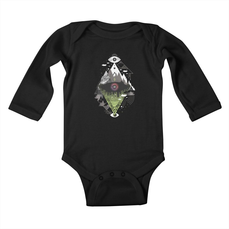 0v3r5ight_ Kids Baby Longsleeve Bodysuit by ordinary fox