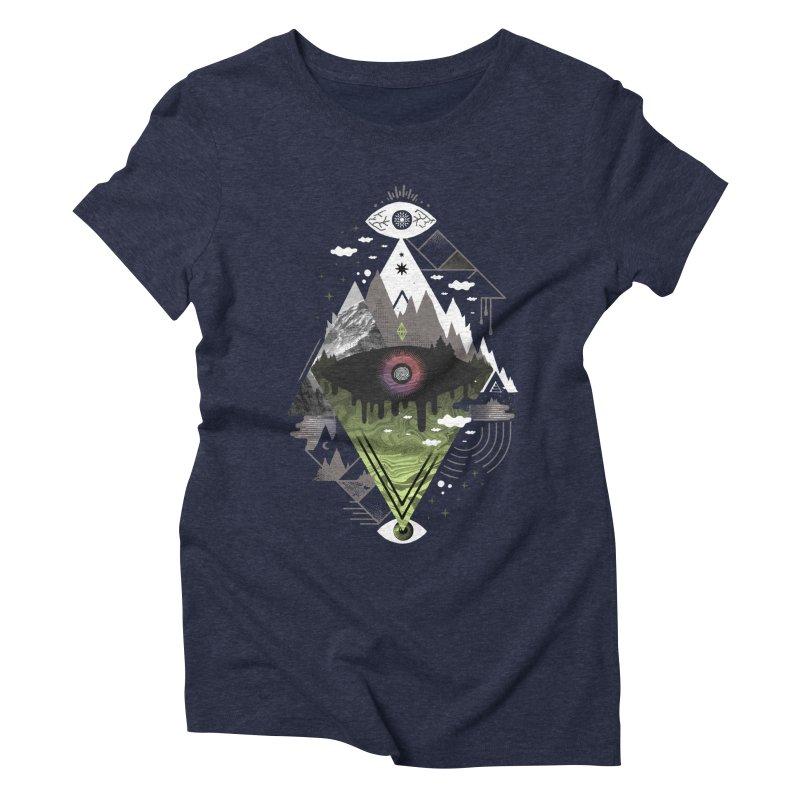 0v3r5ight_ Women's Triblend T-Shirt by