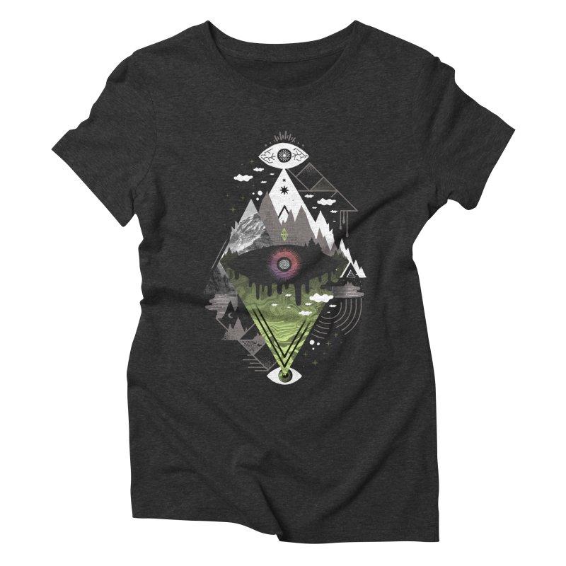 0v3r5ight_ Women's Triblend T-Shirt by ordinary fox
