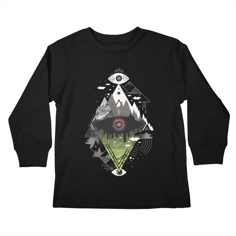 0v3r5ight_ Kids Longsleeve T-Shirt by ordinary fox