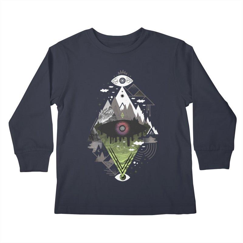0v3r5ight_ Kids Longsleeve T-Shirt by
