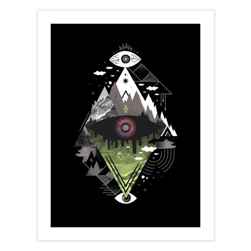 0v3r5ight_ Home Fine Art Print by ordinaryfox