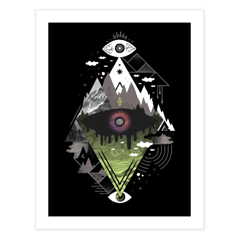 0v3r5ight_ Home Fine Art Print by