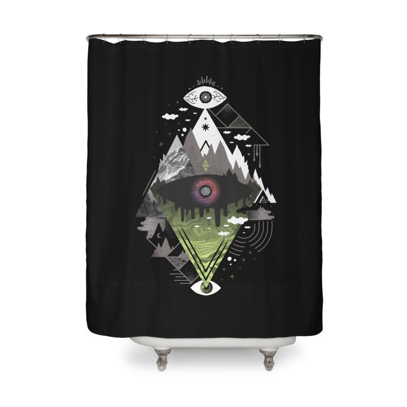0v3r5ight_ Home Shower Curtain by ordinary fox