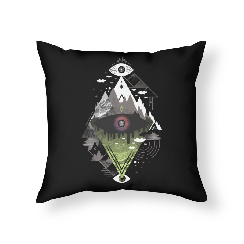 0v3r5ight_ Home Throw Pillow by ordinary fox