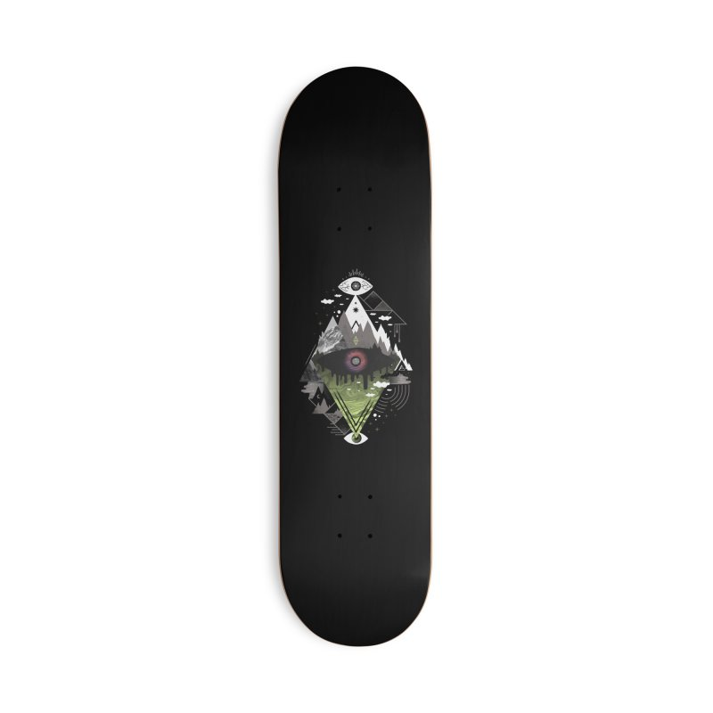 0v3r5ight_ Accessories Deck Only Skateboard by
