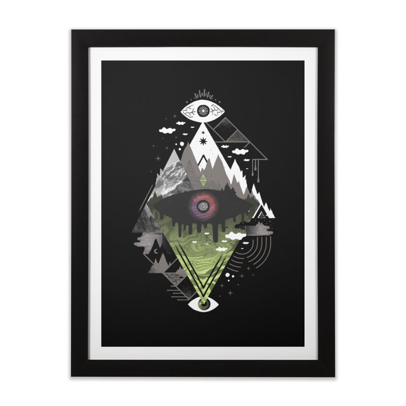 0v3r5ight_ Home Framed Fine Art Print by ordinary fox