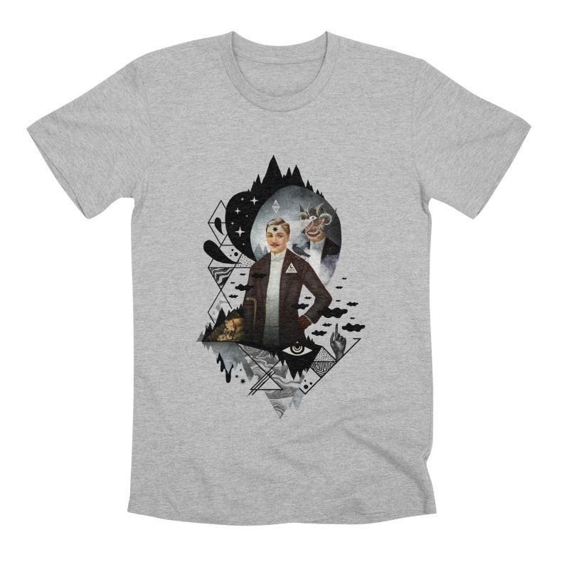 Piece of Mind Men's Premium T-Shirt by ordinary fox