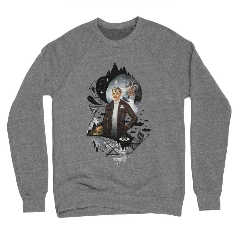 Piece of Mind Men's Sponge Fleece Sweatshirt by ordinary fox