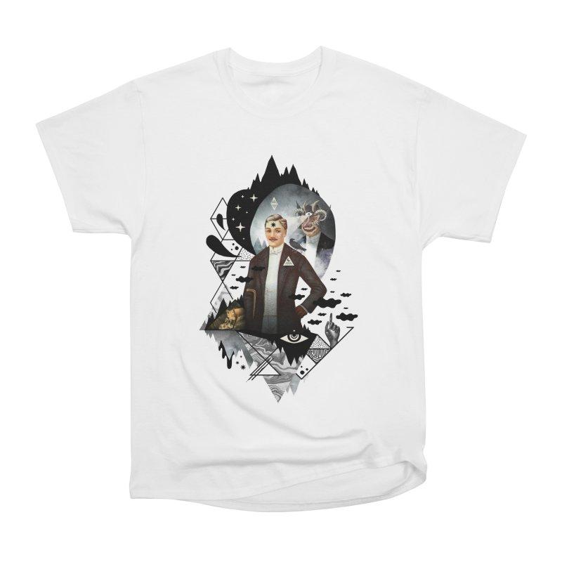 Piece of Mind Women's Heavyweight Unisex T-Shirt by ordinary fox