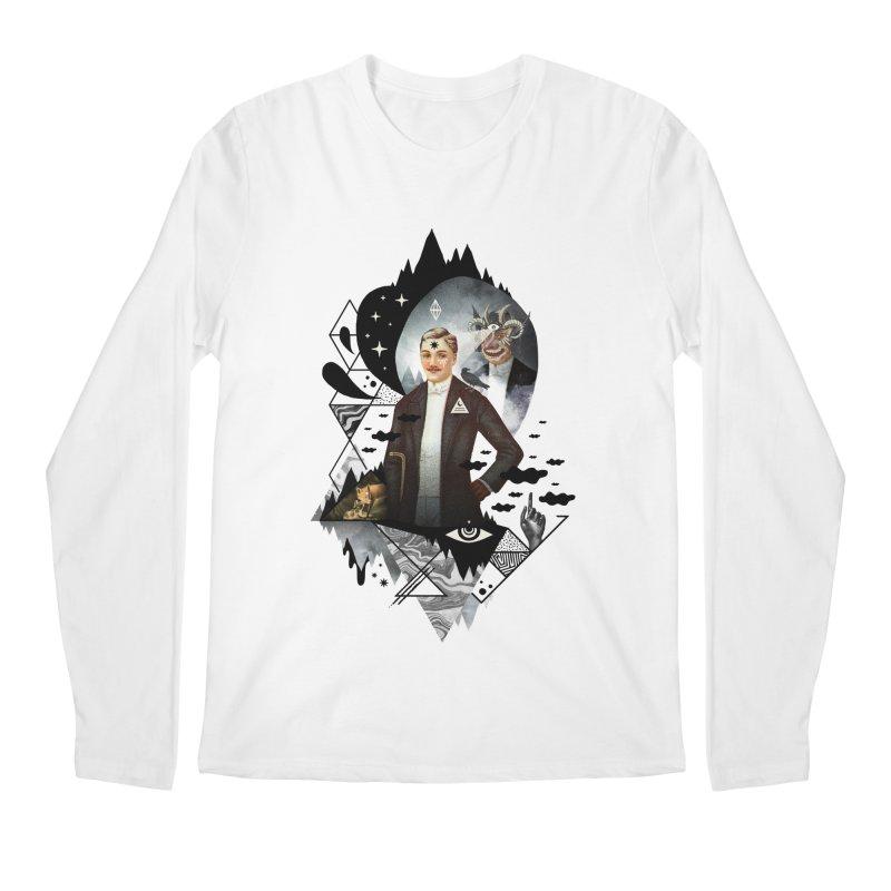 Piece of Mind Men's Regular Longsleeve T-Shirt by ordinary fox