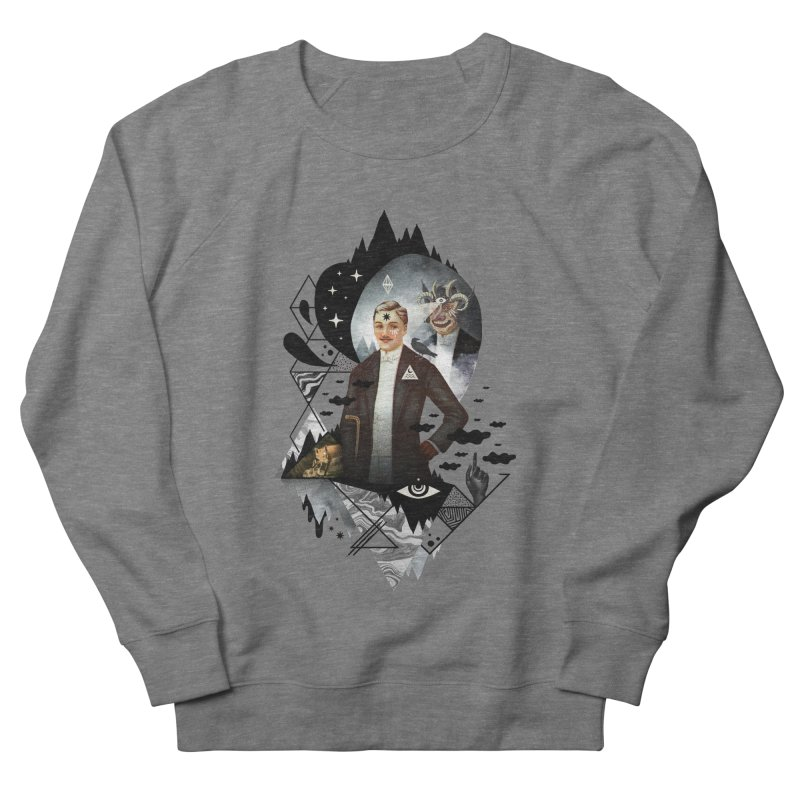 Piece of Mind Women's French Terry Sweatshirt by ordinary fox