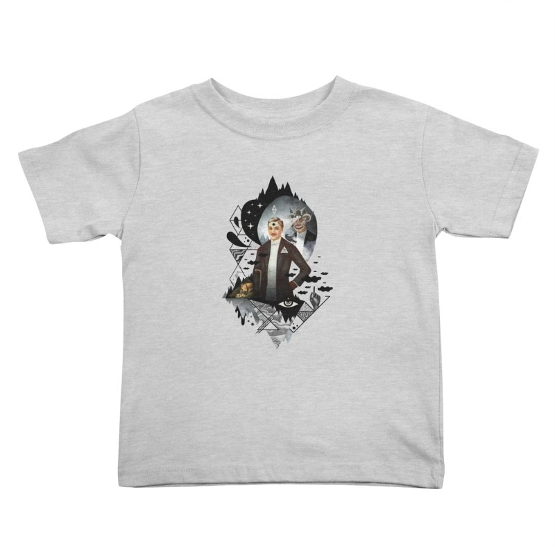 Piece of Mind Kids Toddler T-Shirt by ordinary fox