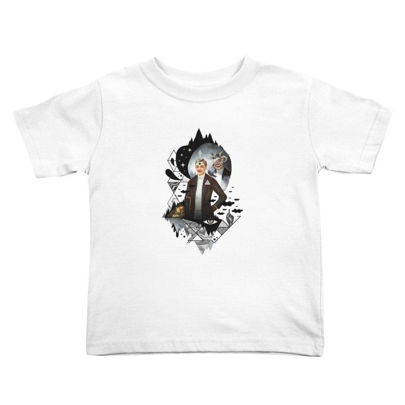 Piece of Mind Kids Toddler T-Shirt by ordinaryfox