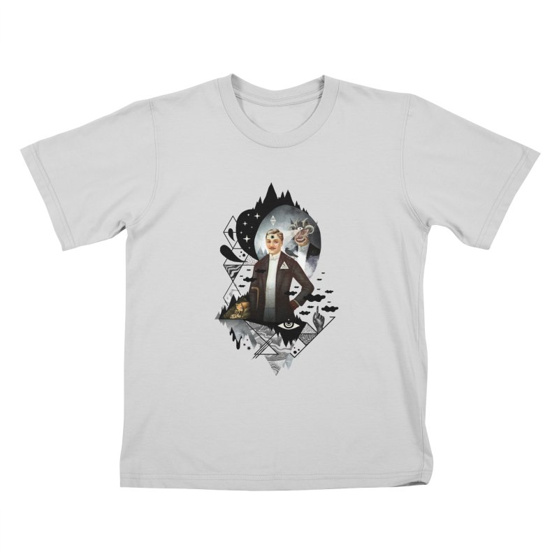 Piece of Mind Kids T-Shirt by ordinary fox