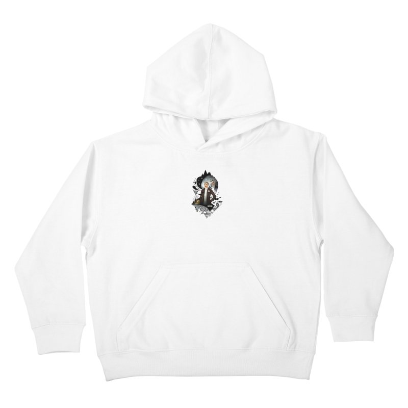 Piece of Mind Kids Pullover Hoody by ordinary fox