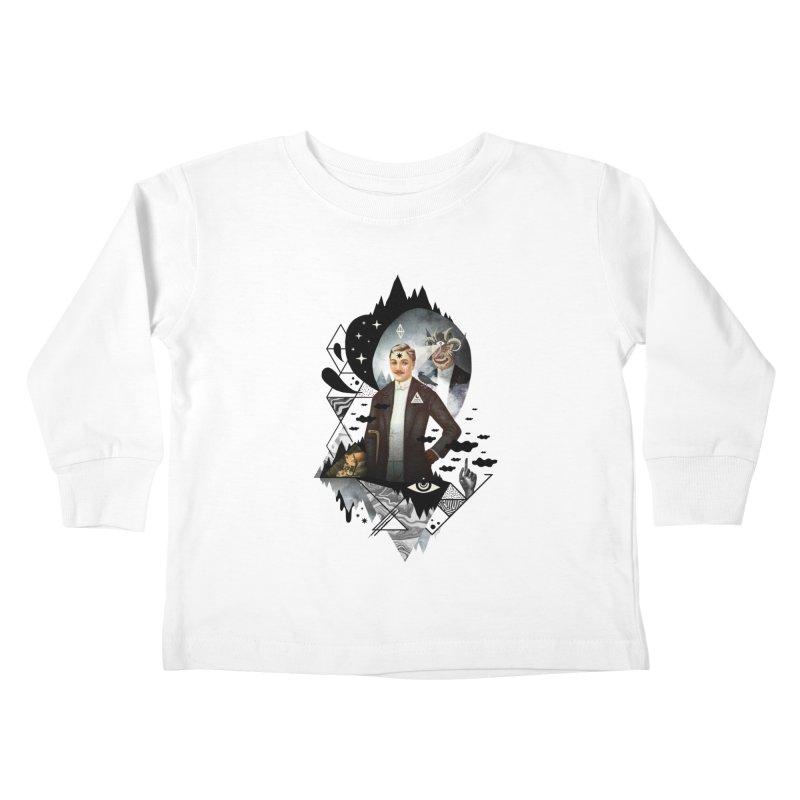 Piece of Mind Kids Toddler Longsleeve T-Shirt by ordinary fox