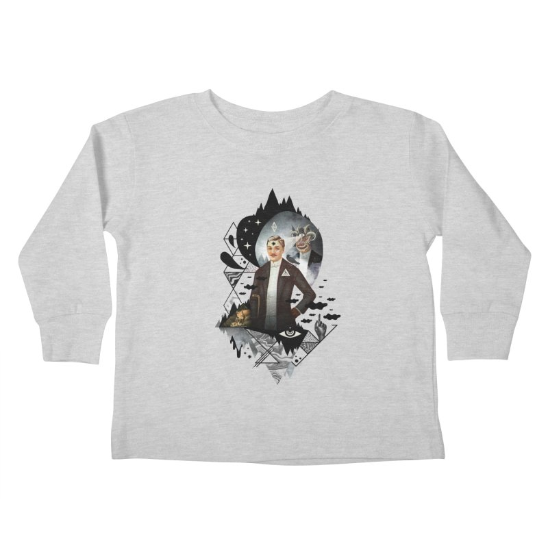 Piece of Mind Kids Toddler Longsleeve T-Shirt by ordinary fox