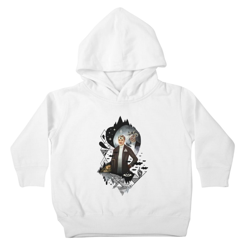 Piece of Mind Kids Toddler Pullover Hoody by ordinary fox