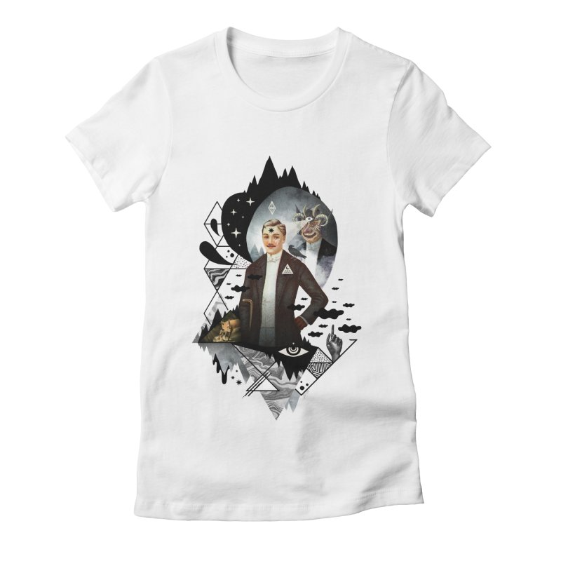 Piece of Mind Women's Fitted T-Shirt by ordinary fox
