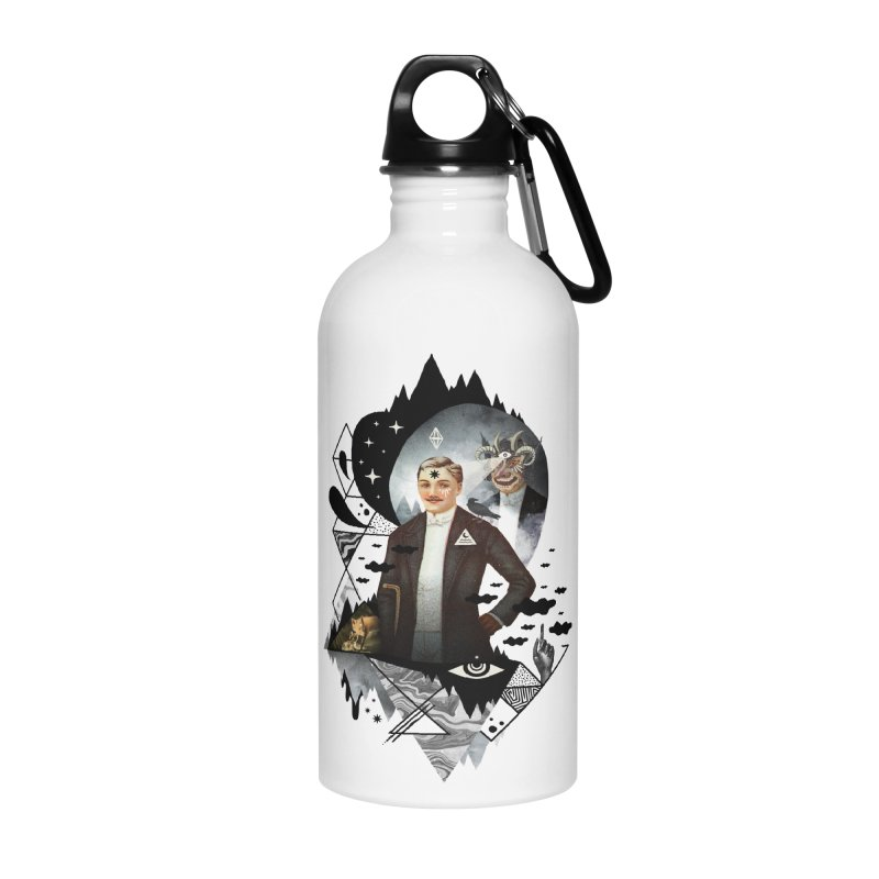 Piece of Mind Accessories Water Bottle by ordinary fox