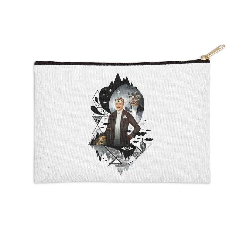 Piece of Mind Accessories Zip Pouch by ordinary fox