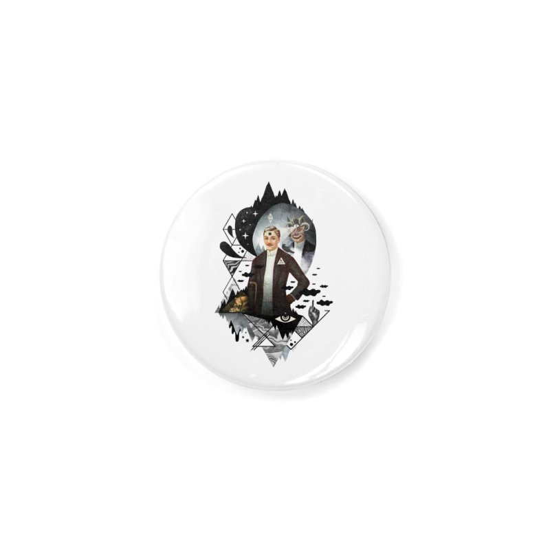 Piece of Mind Accessories Button by ordinary fox