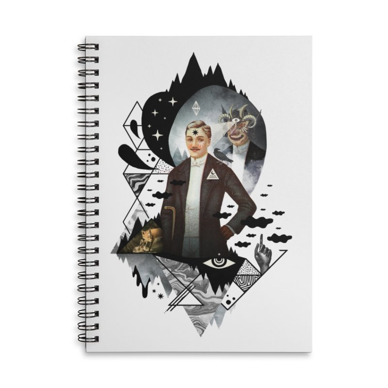 Piece of Mind Accessories Lined Spiral Notebook by ordinary fox
