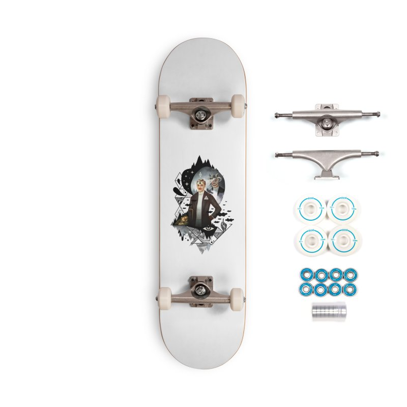 Piece of Mind Accessories Complete - Basic Skateboard by ordinary fox