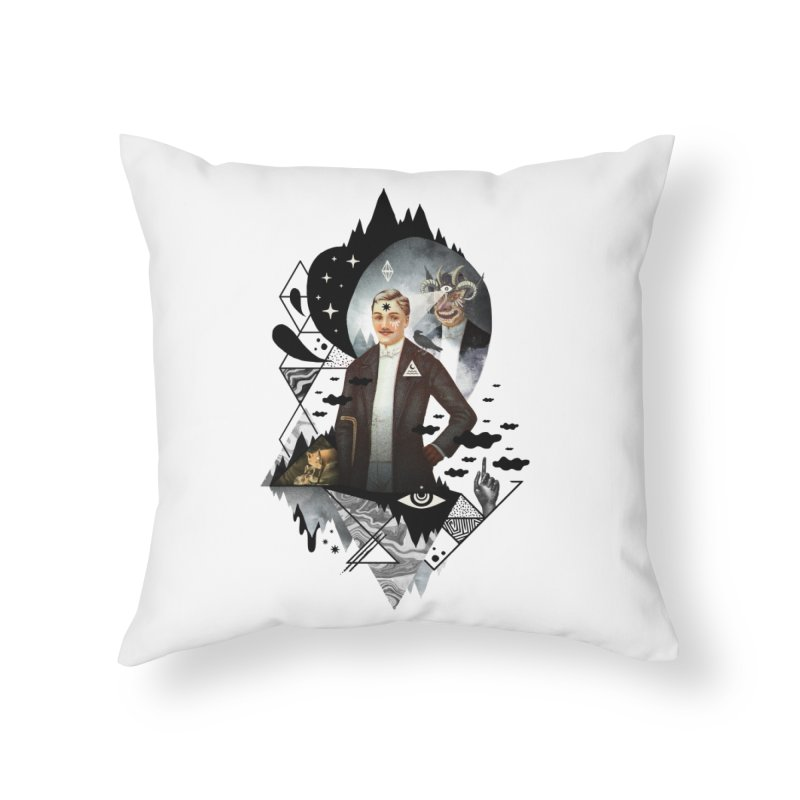 Piece of Mind Home Throw Pillow by ordinaryfox