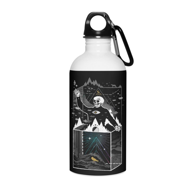 Existential Isolation Accessories Water Bottle by ordinary fox
