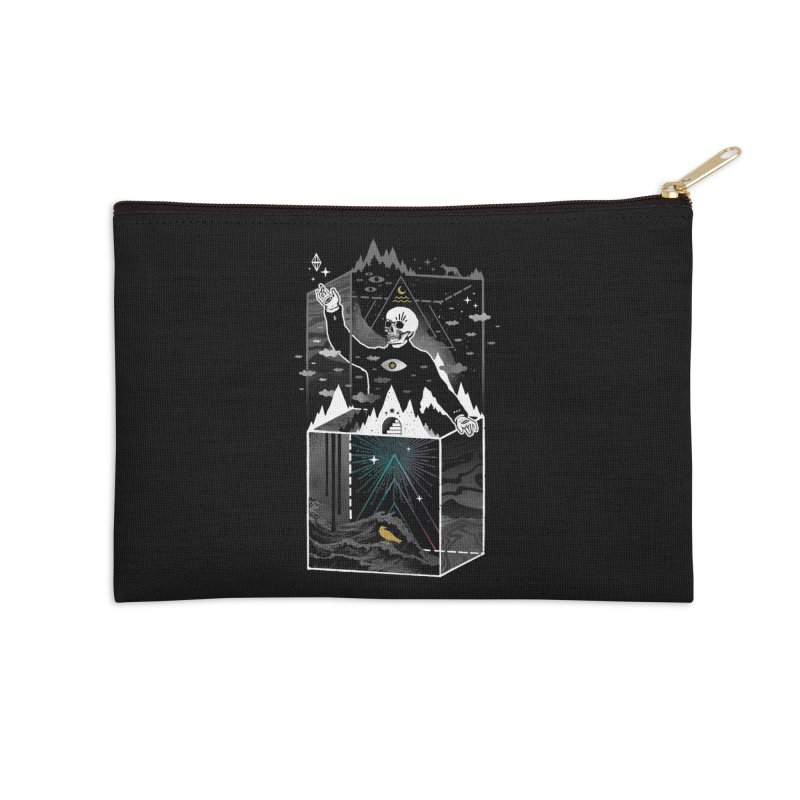 Existential Isolation Accessories Zip Pouch by ordinaryfox