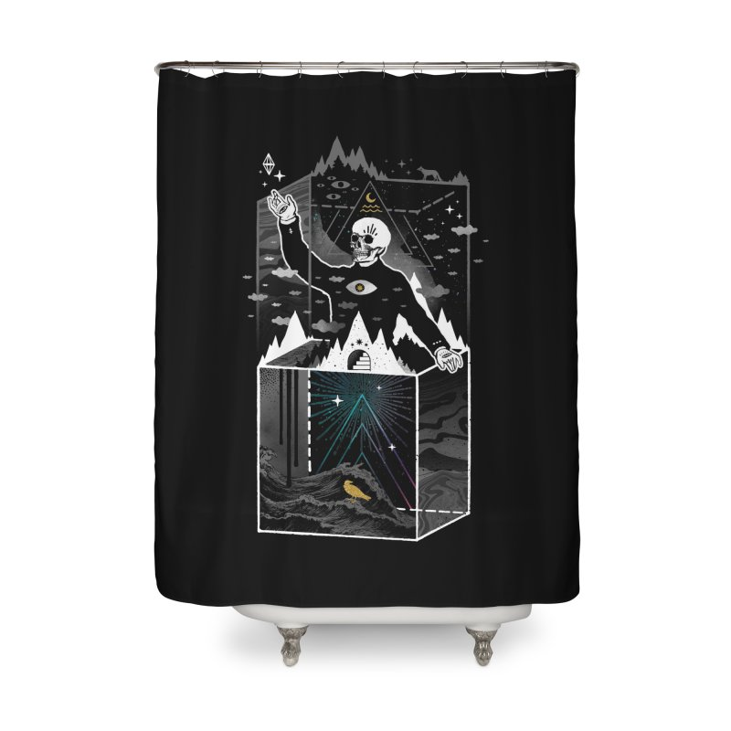 Existential Isolation Home Shower Curtain by