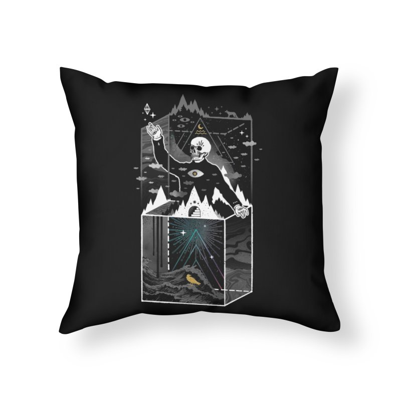Existential Isolation Home Throw Pillow by ordinary fox