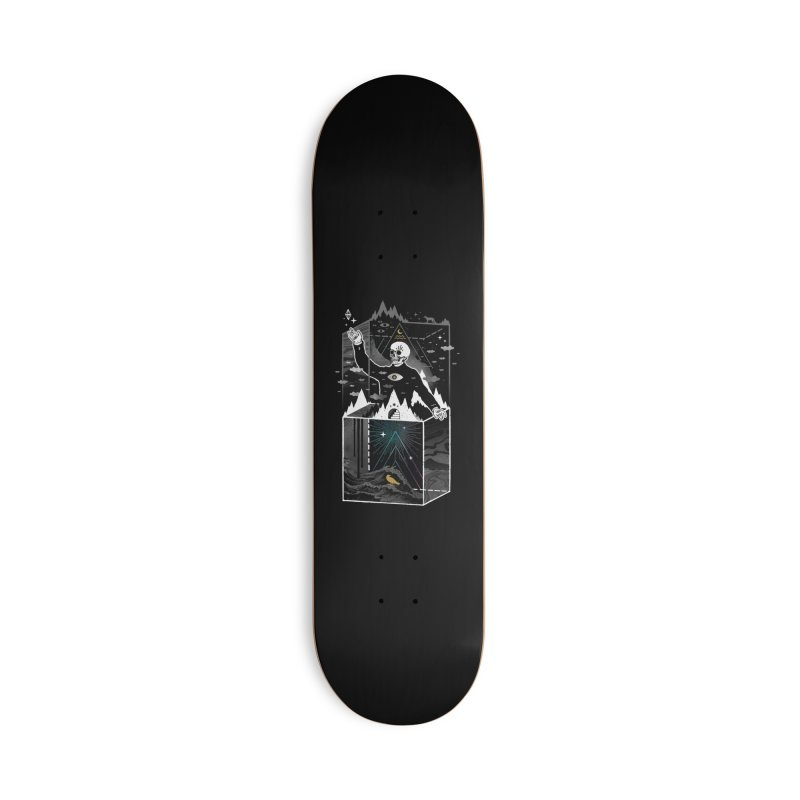 Existential Isolation Accessories Skateboard by ordinaryfox