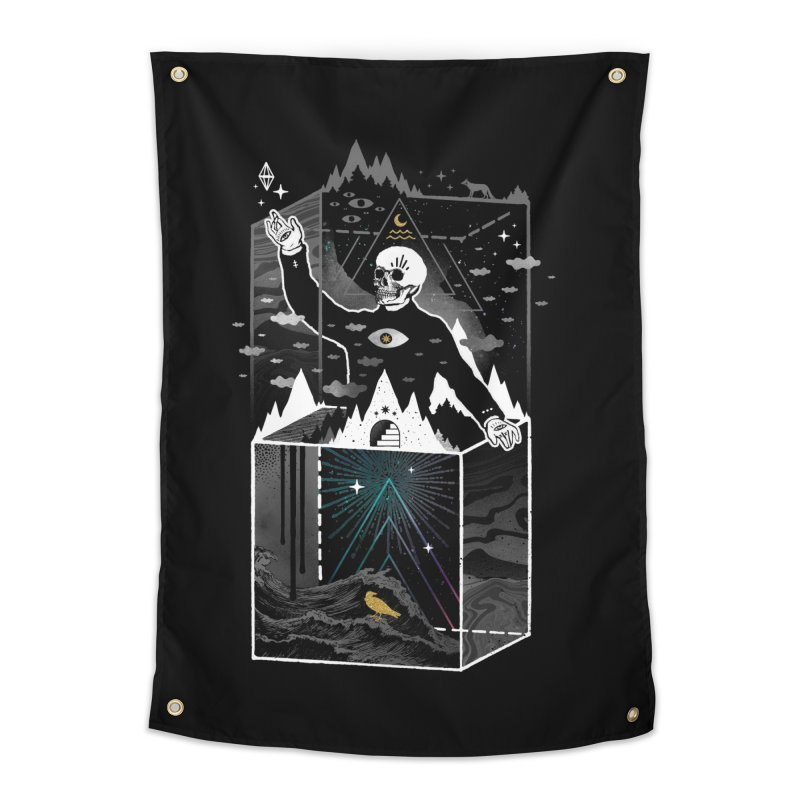Existential Isolation Home Tapestry by ordinary fox