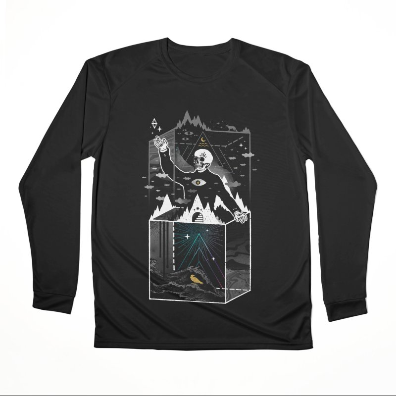 Existential Isolation Women's Performance Unisex Longsleeve T-Shirt by ordinary fox