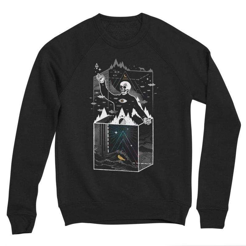 Existential Isolation Men's Sponge Fleece Sweatshirt by ordinary fox