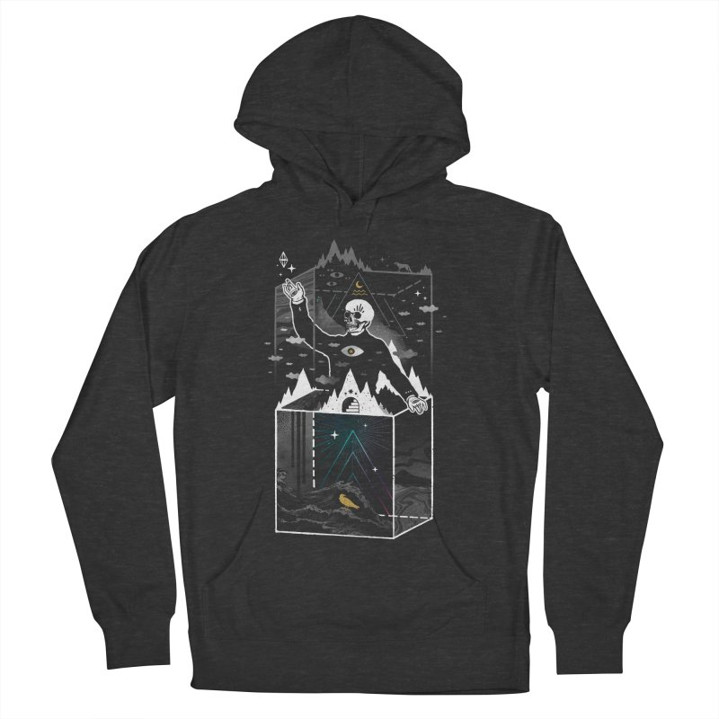 Existential Isolation Men's French Terry Pullover Hoody by ordinary fox