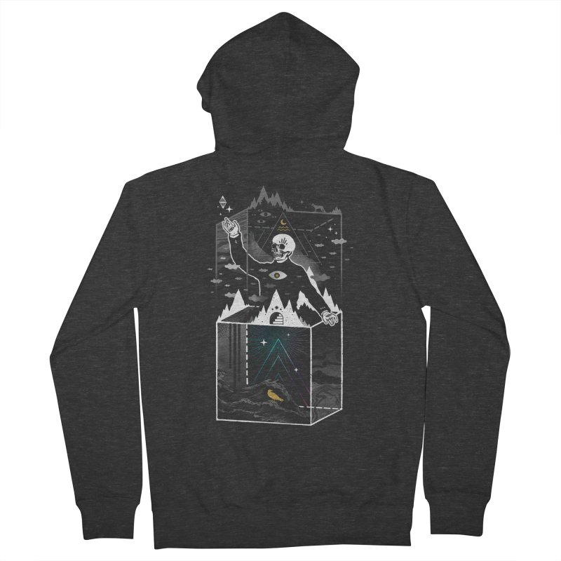 Existential Isolation Men's French Terry Zip-Up Hoody by ordinary fox