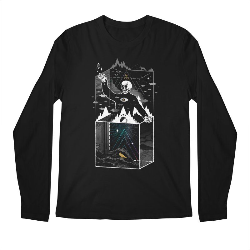 Existential Isolation Men's Longsleeve T-Shirt by ordinaryfox