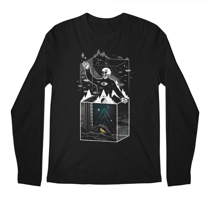 Existential Isolation Men's Regular Longsleeve T-Shirt by ordinary fox