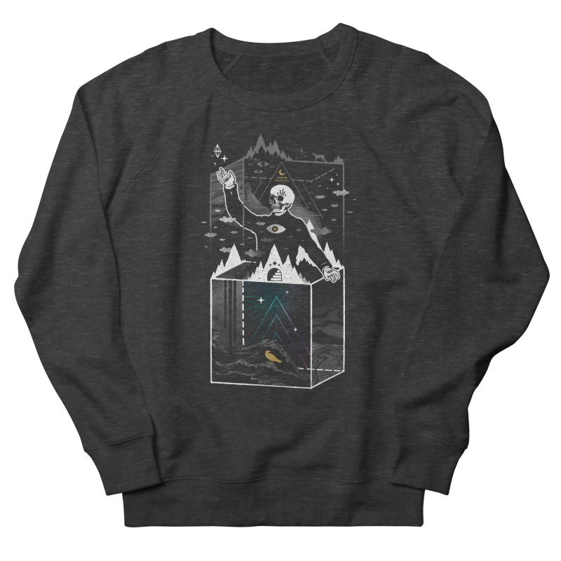 Existential Isolation Men's French Terry Sweatshirt by ordinary fox