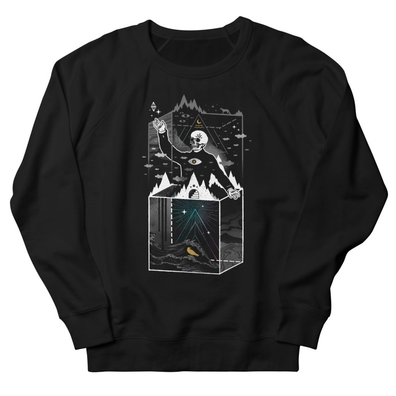 Existential Isolation Men's French Terry Sweatshirt by