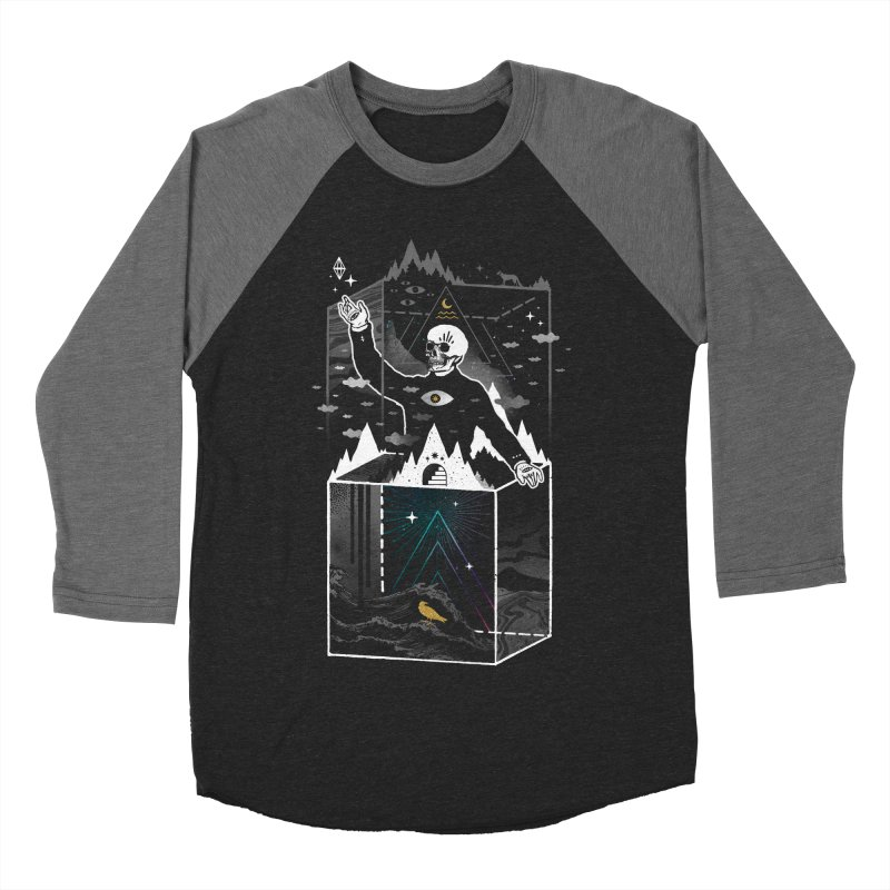 Existential Isolation Men's Baseball Triblend Longsleeve T-Shirt by ordinary fox