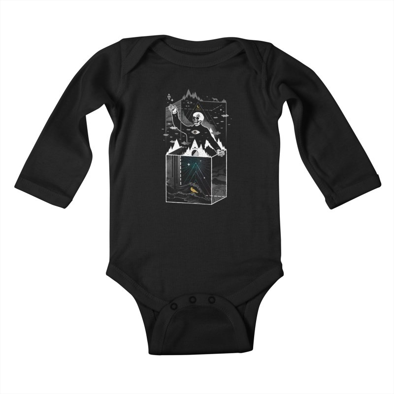 Existential Isolation Kids Baby Longsleeve Bodysuit by